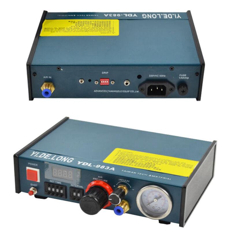 983A Glue Dispenser Machine Automatic Solder Paste Pneumatic Adhesive Dispenser