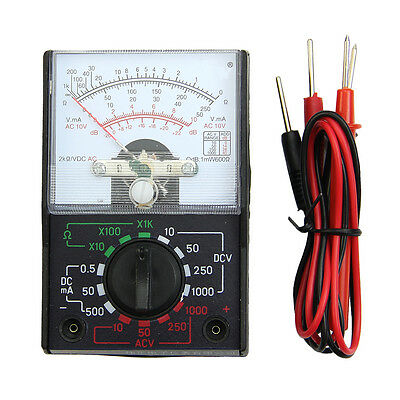 Mini Electric Acdc Ohm Voltmeter Ammeter Multimeter Multi Tester Mf-110a New