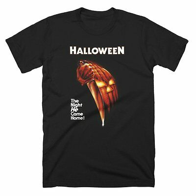 Halloween Movie - Night He Came Home Black T-shirt - BRAND NEW - New Halloween Movie