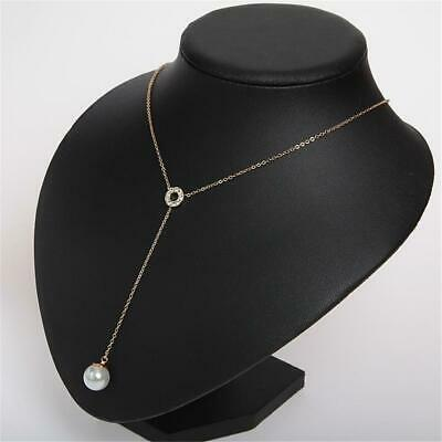 Kate Spade New York Purely Pearly Pave Y Necklace Gold Tone