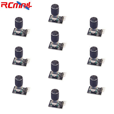10pcs 360 Degree Rotary Encoder Module Potentiometer Switch Sensor For Arduino
