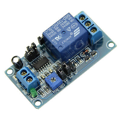 12v Dc Delay Relay Delay Turn On Delay Turn Off Switch Module With Timer