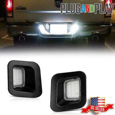 For 2003-2018 Dodge RAM 1500 2500 3500 LED SMD License Plate Light Bulbs