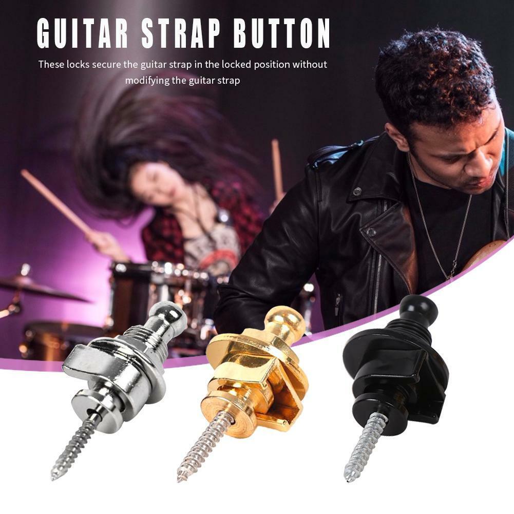 Electric Guitar Strap Lock Button Anti-slip Belt Locks Nails