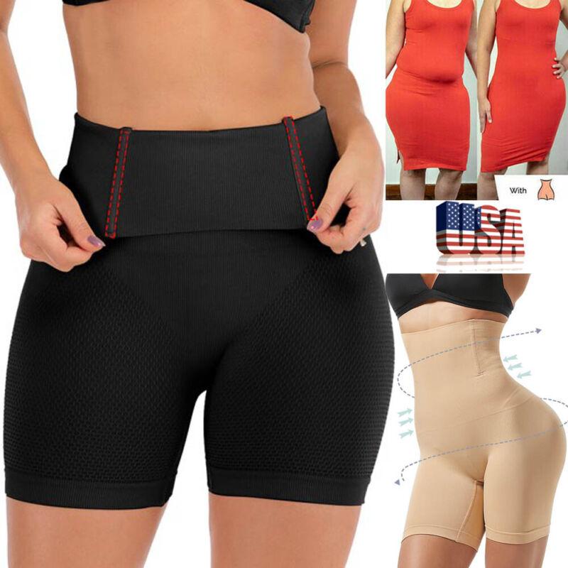 Damen Hohe Taille Miederhose Shapewear Unterwäsche Bauchweg Figurenformend Pants