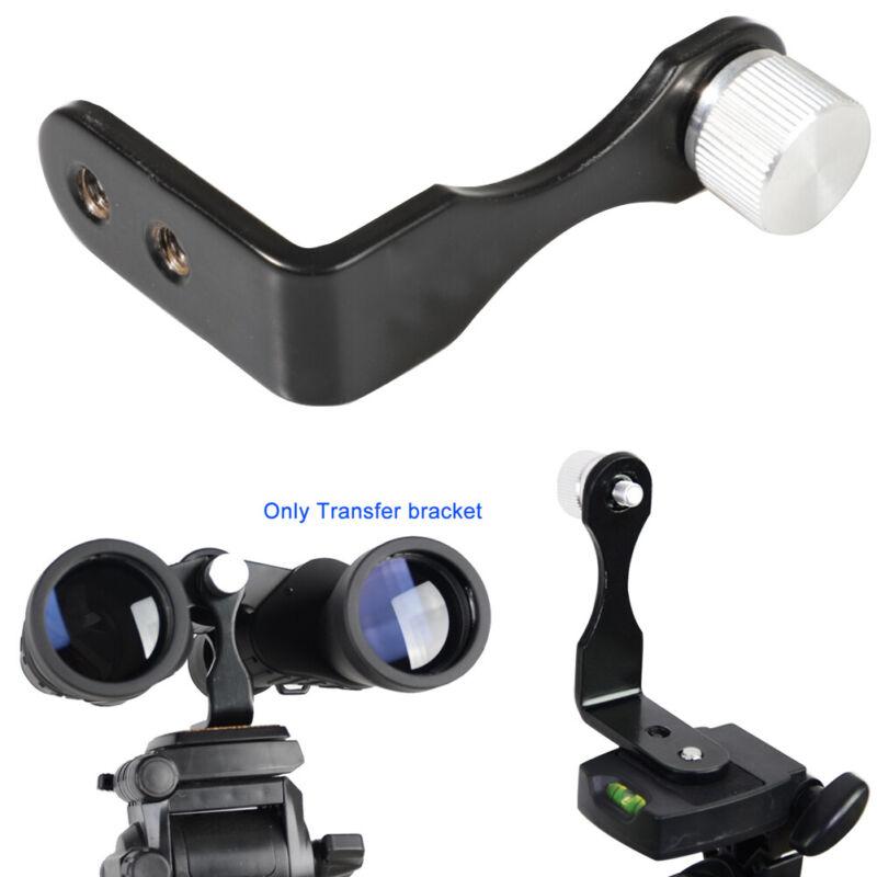 Accessories Tripod Mount L Type Monocular Binocular Telescope Adapter Metal