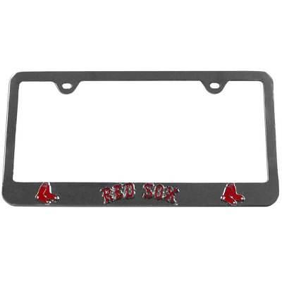 Boston Red Sox Frame (Boston Red Sox 3-D Chrome Plated License Tag Frame MLB Baseball Licensed )
