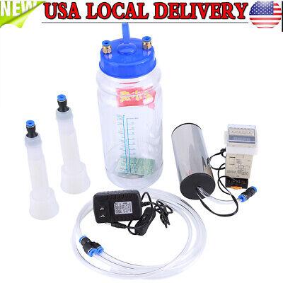 Electric Barrel Milking Machine Portable Vacuum Pump For Cow Goat Milker Tank 2l