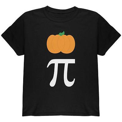 Halloween Math Pi Costume Pumpkin Day Youth T Shirt (Halloween Math)