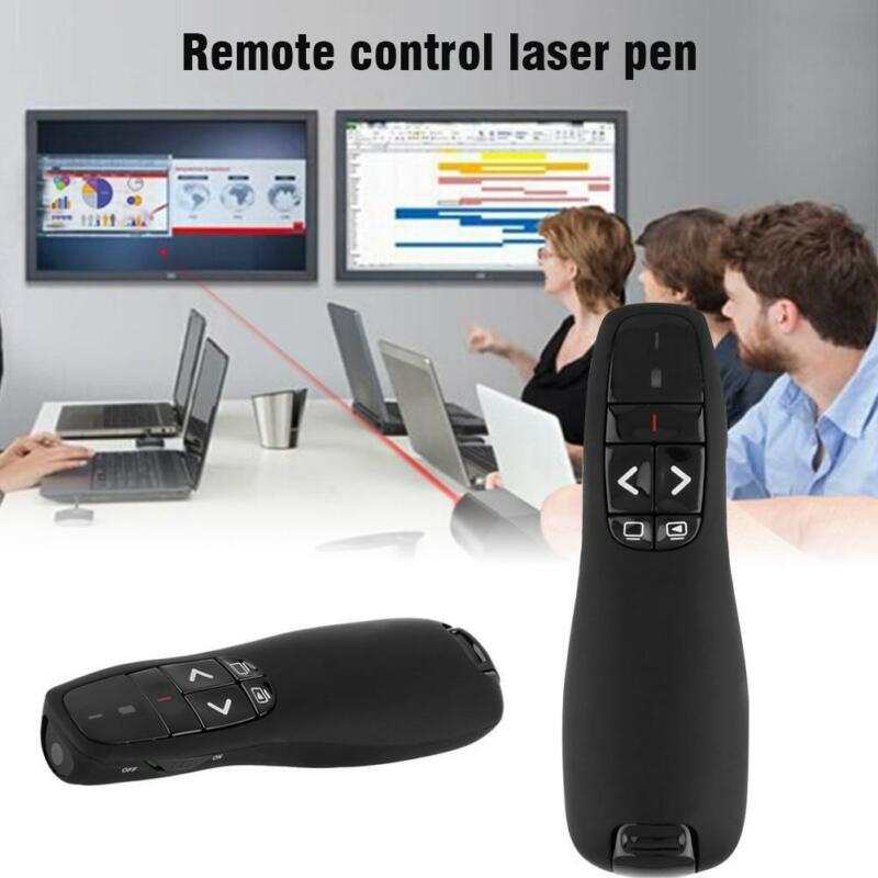Practical 2.4GHz Wireless USB PPT Presentation Remote Control Laser Pointer Pen^