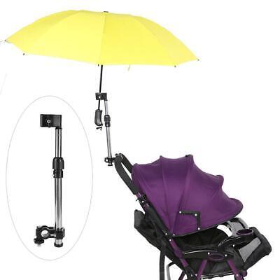 Silla de ruedas Bicicleta Triciclo Plegable Paraguas Soporte de Acero inoxidable