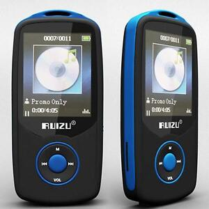 NEW BLUE RUIZU BLUETOOTH SPORTS LOSSLESS MP3 MP4 PLAYER MUSIC VIDEO FM BF