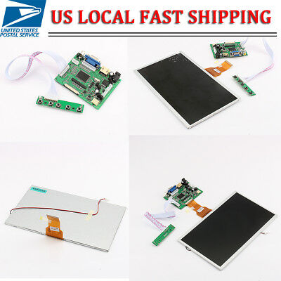 10.1 Tft Lcd Display W Hdmivgavideo Driver Board For Raspberry Pi