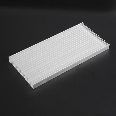 300x140x20mm Aluminum Heat Sink Cooling For Led Power Ic Transistor Heatsink Zg