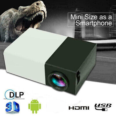 Mini YG300 HD 1080P Home Theater Cinema USB HDMI AV SD 3D Portable LED Projector
