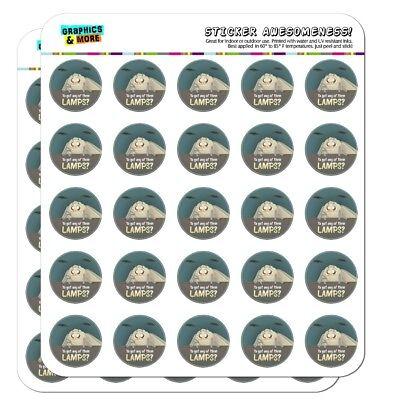 Moth Lamp Meme Planner Calendar Scrapbooking Crafting Stickers