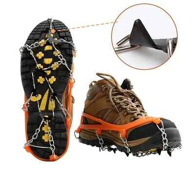 Ice Snow Shoes Grips Traction Cleats Grippers Crampons Outdoor Walking Hiking