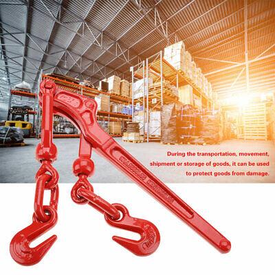 Load Binder Lever 14-516 Inch Chain Hook Tie Down Rigging Equipment