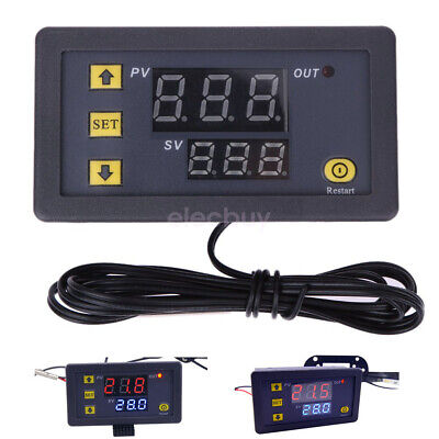 Led Digital Temperature Controller Thermostat Meter Regulator 12v24v110v220v