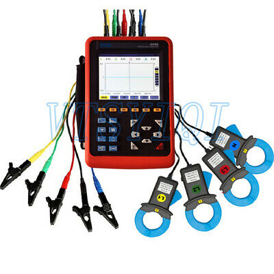 Etcr5000 3 Phase Power Quality Analyzer Meter With Etcr040b Current Clamp Sensor