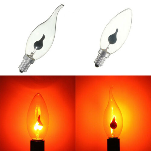 E27 LED Flicker Fire Flame Candle Light Bulbs Atmosphere Bar Home Decor Lamp New