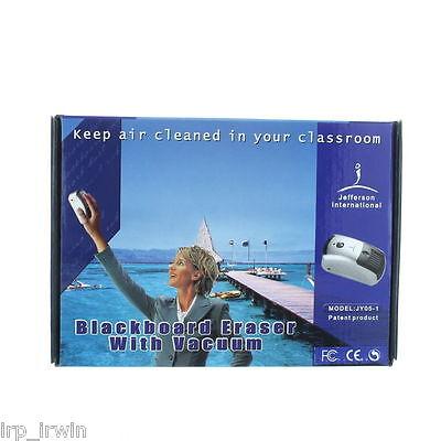 Jefferson International Blackboard Eraser With Vacuum Classroom Office