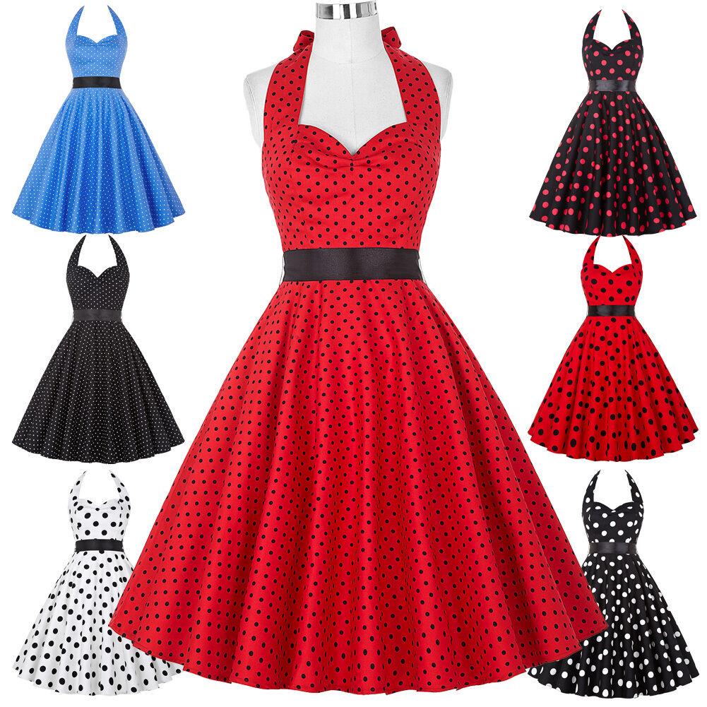 R tro vintage ann es 50 de 60 robe pin up femme au foyer for Femme au foyer annees 50