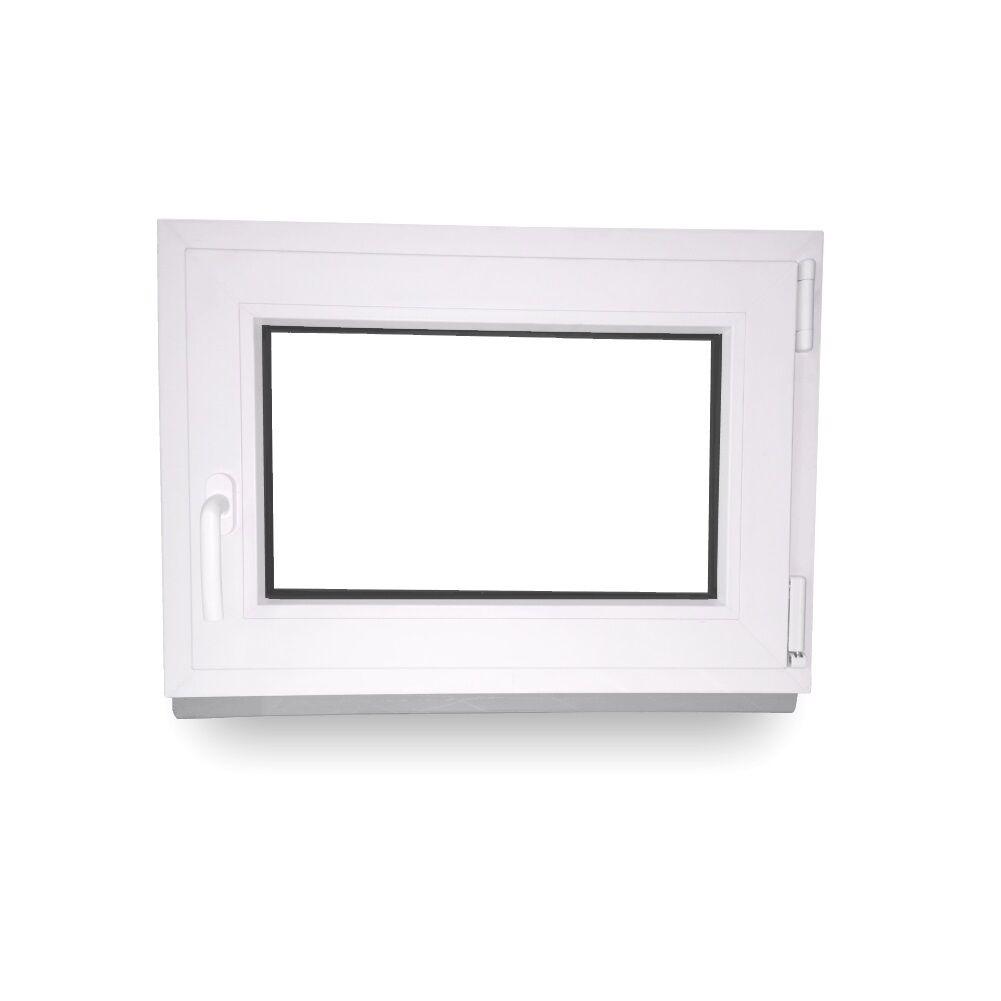 Kellerfenster Kunststoff Fenster 2 Fach Verglast Dreh Kipp alle Größen Lagerware