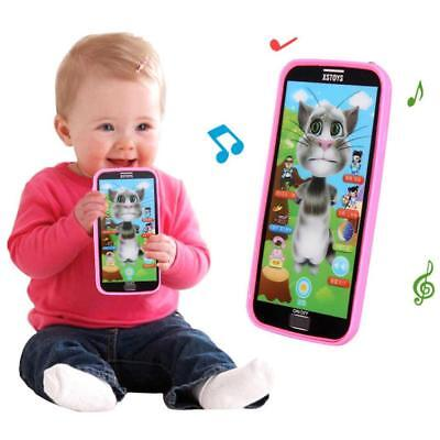 Kids Simulator Music Phone Touch Screen Kid Educational Learning Toy Gift - Educational Gifts