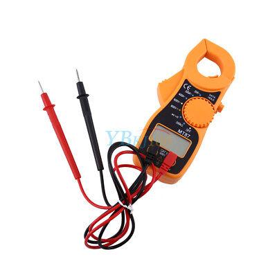 Digital Lcd Clamp Acdc Multimeter Amp Ohm Volt Meter Handheld Resistance Tester