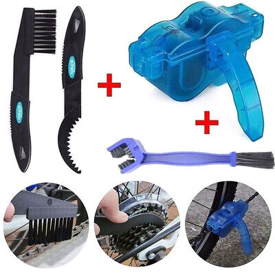 4 IN 1 CLEANING BEST MATCH Bicycle Chain Cleaner Cycling Clean Kit (Best Chain Cleaning Tool)