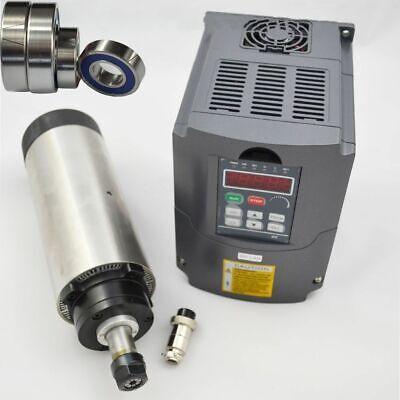 Spindle Motor 2.2kw Er20 Collet Air-cooled 24000rpm Vfd Inverter Collet Cnc Kit
