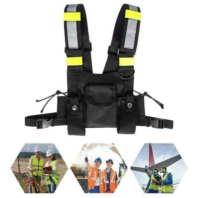 Safety Vest Wireless Tactics Security Waistcoat Wmulti Pocketsadjustable Strap