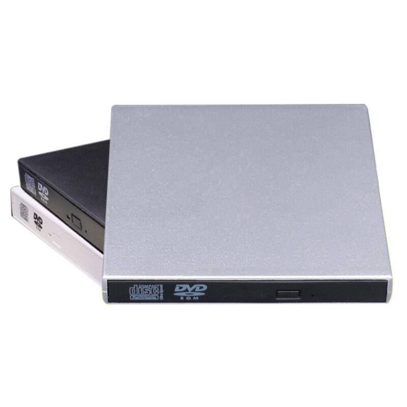 USB 2.0 External Optical Drive High Speed CD-Burner DVD Player Reader For Laptop