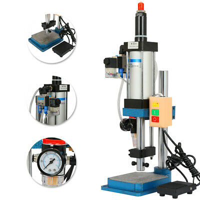 New 110v Pneumatic Punch Press Machine 200kg Desktop Punching Machine