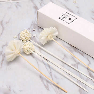 Flower Reed Oil Diffuser Replacement Rattan Stick Essential Fragrance Refill