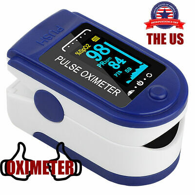 Household Portable Digital Oled Fingertip Pulse Oximeter Blood Oxygen Saturation