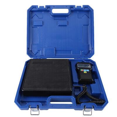 Refrigerant Charging Scale Electronic 220lb Digital Hvac Ac Refrigeration Us