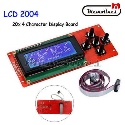 Lcd 2004 Module Screen 20x4 Character Display Board Adpater For 3d Printer Part