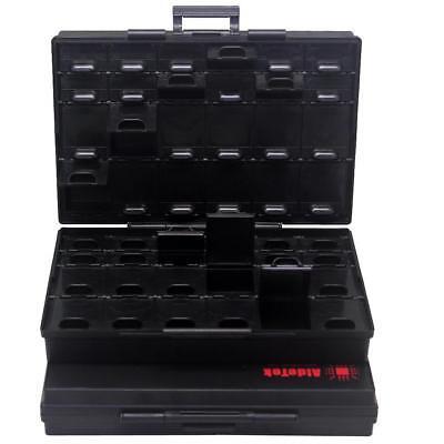 Aidetek Esd Safe Smt Resistor Capacitor Storage Box Organizer Box144asbox48as