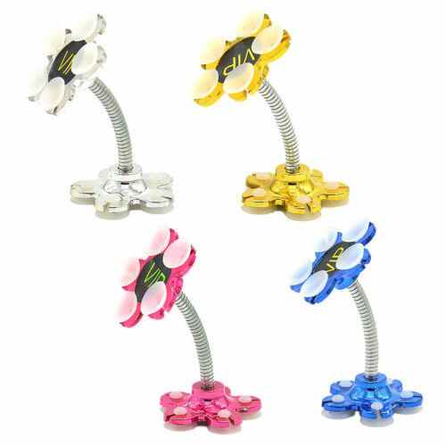 Flower Phone Holder Double-Sided Suction Cup Bracket Lazy Ty