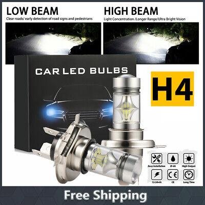 2x H4 110W LED Nebel scheinwerfer Fern / Abblendlicht Xenon Birnen 6000K 12V 24V