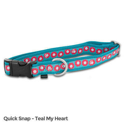 Used, PetSafe Fido Finery Quick Snap Collar (Large, Teal My Heart) ^m^x for sale  Lagrange
