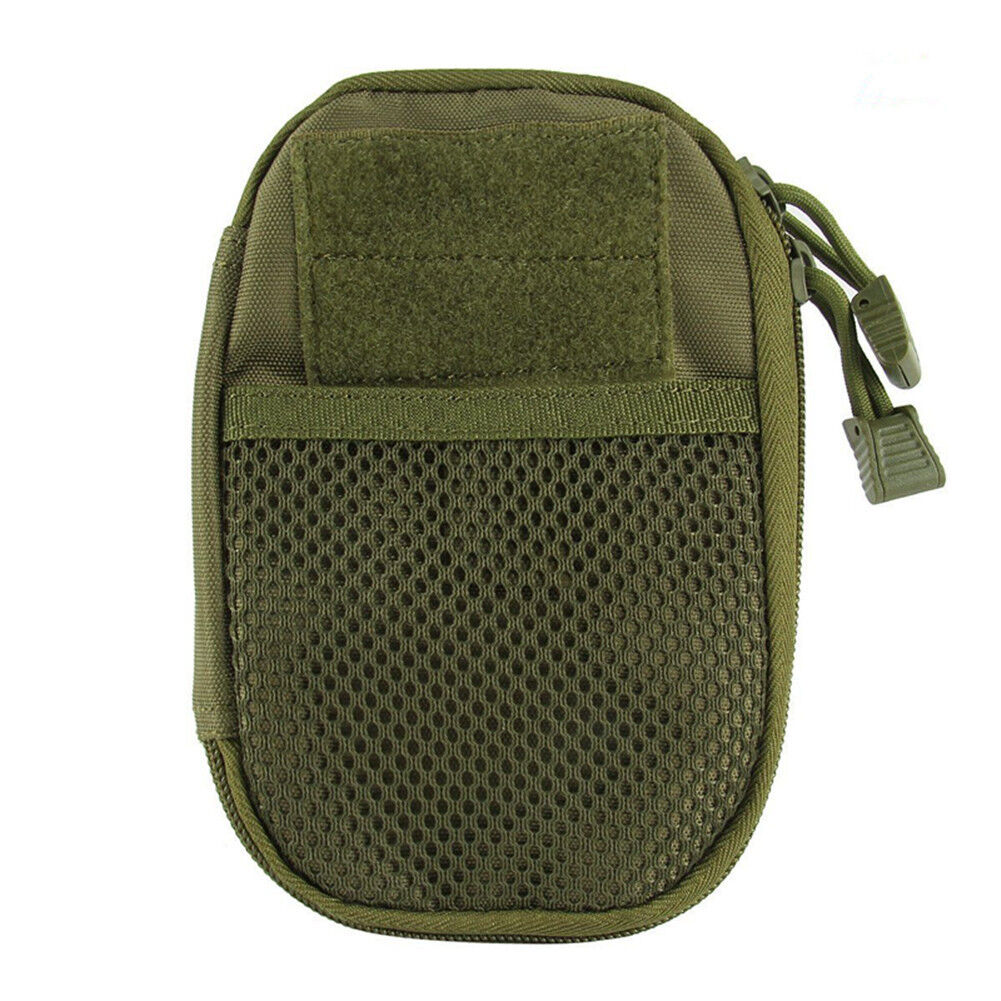 Outdoor Tactical Molle Medical First Aid Edc Pouch Phone Pocket Bag Organizer GQ