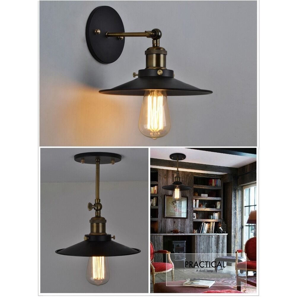 Retro Loft Diy Pendant Lamp Industrial Iron Pipe Ceiling