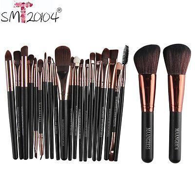 22pcs Pro Cosmetic Brush Makeup Blusher EyeShadow Foundation Brushes Set Tool