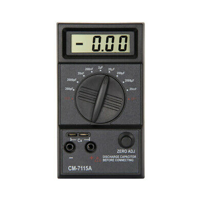Portable Capacitor Digital Meter High Accuracy Capacitance Tester Multimeter Mx