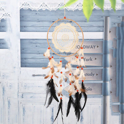 Dream Catcher Hanging Ornament Cars Home Wall Handmade Decoration Feathers Decor