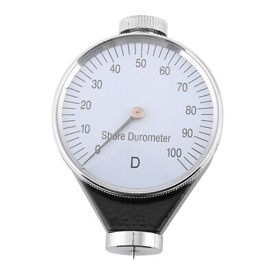 Shore Type D Rubber Tire Durometer Hardness Tester Meter 0-100 Had