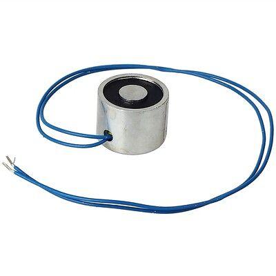 New Dc 12v 5.5 Lb 2.5kg Electric Lifting Magnet Electromagnet Solenoid Holding